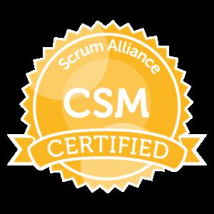 Scrum Alliance CSM Certificate